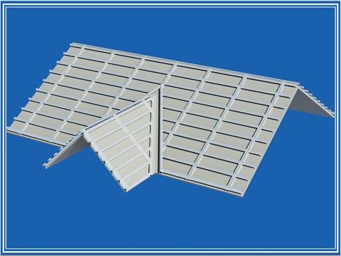 Hệ giàn thép Zacs gắn mái bê tông 2 lớp