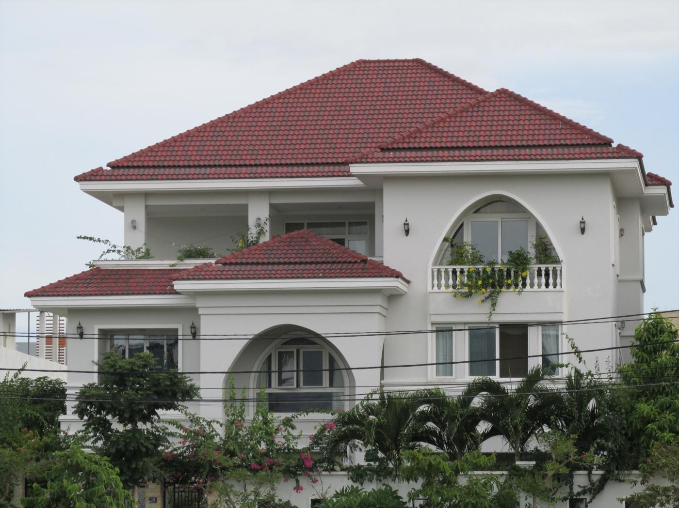 dự án nhà ngói màu SCG Thái Lan