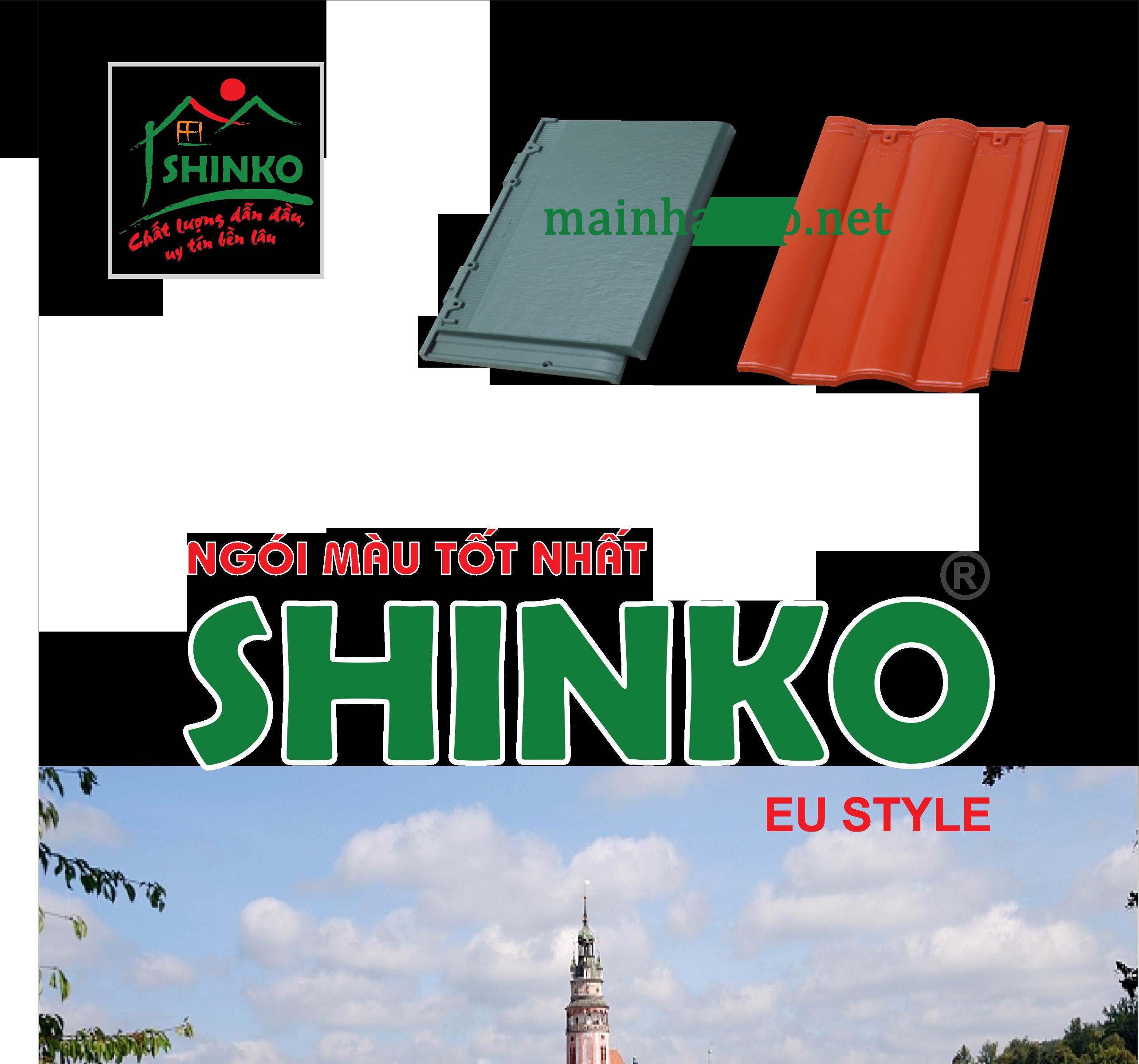 Ngói màu Shinko – Ngói Màu Tốt Nhất Hiện Nay