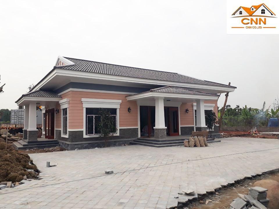 Công trình thi công mái ngói lợp nhà Thủy Nguyên, Hải Phòng